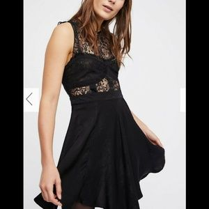 Free People ~ Eclipse Fit & Flare Slip Dress